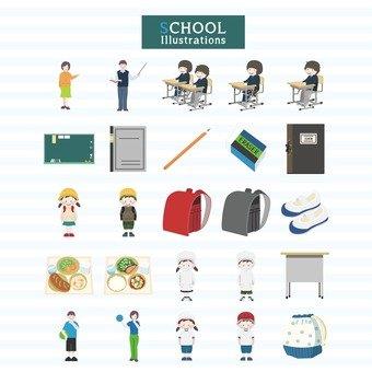 School illustrations