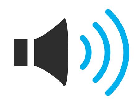 Speaker color icon