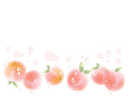 Cute peach