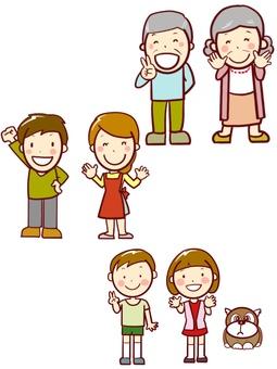 chacha 3代家庭部件易於使用
