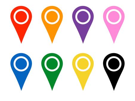 Map pin pin Map mark No shadow