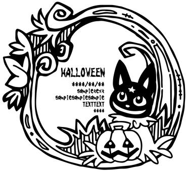 Halloween card (coloring)