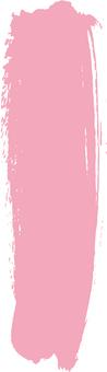 Brush strip b_ Pink _ v 8