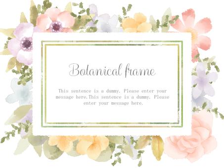 Flower frame 02