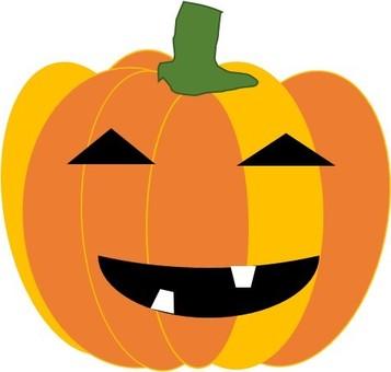 Two color pumpkin