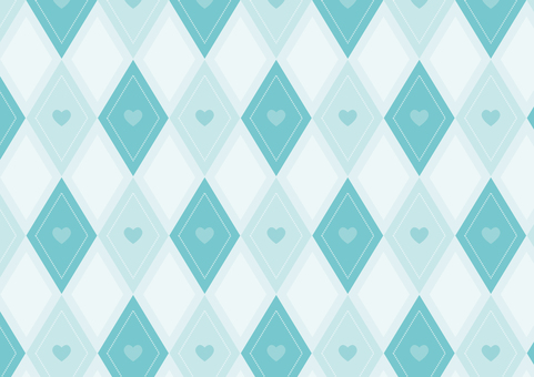 Heart square ● Blue