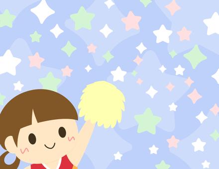 Cheerleading background