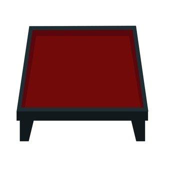 Lacquerware table