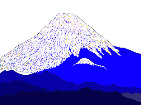 Mount Fuji Snow