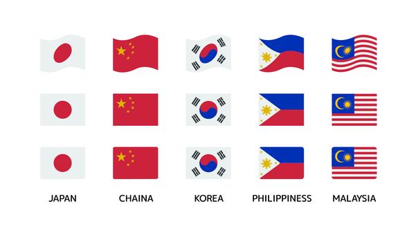 Flag Asia 01