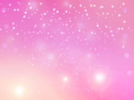 Fairy tale pink sky