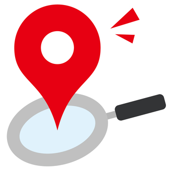 Map search icon color