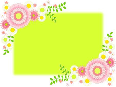 Flower frame 09