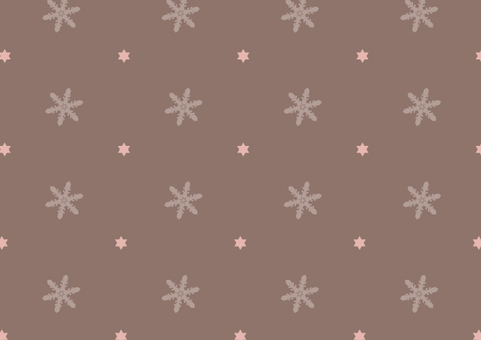 Snow crystal pattern 6