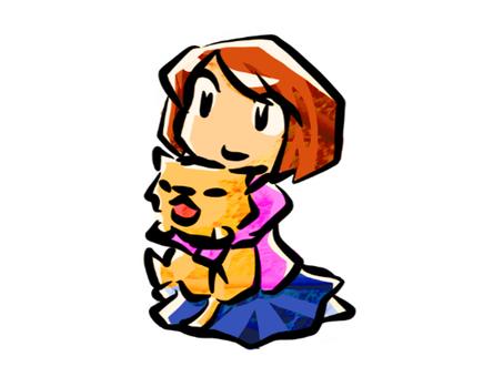 고양이를 안고있는 여자