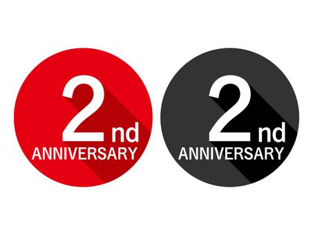 Anniversary Label 2nd Anniversary 2nd