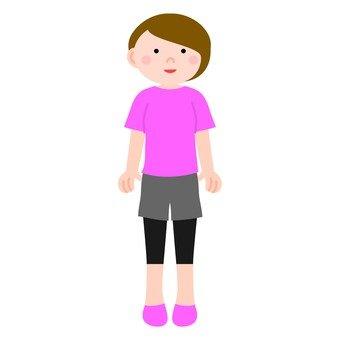 운동복의 여자 2