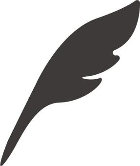 Feather pen icon