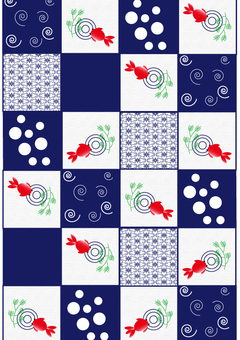 Checkered goldfish