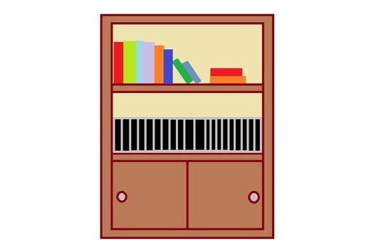 Bookshelf kew