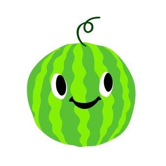 Watermelon - smiley