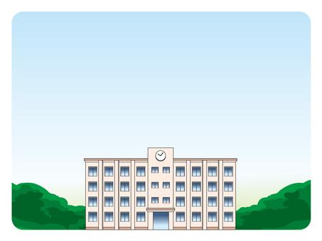 Background frame (44) School building