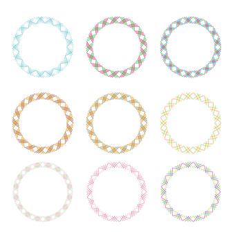 Circular material -253