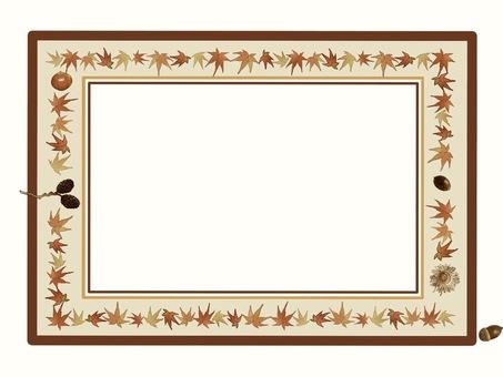 Frame Maple ① Sepia