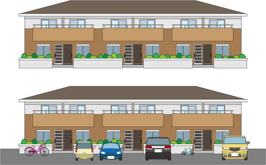 1 apartment