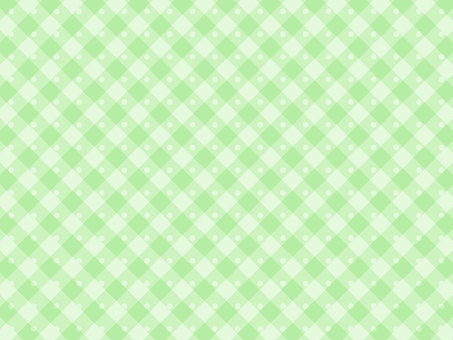Dot check pattern green