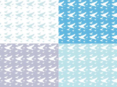 渡り鳥の背景パターン