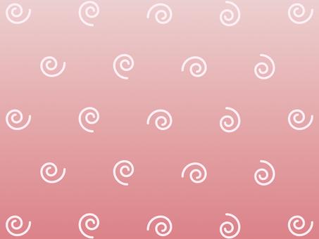 벽지 소용돌이 핑크