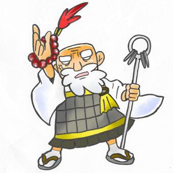 Fighting monk