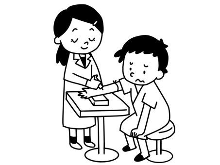 採血 注射