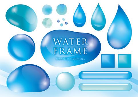 Water image frame