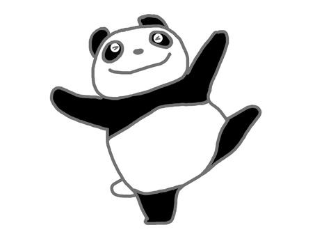 I will dance, Panda.