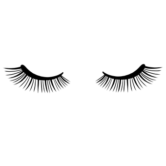 Eyelash lap eyelids closed eye