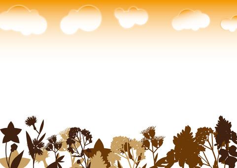 Autumn seven herbs (background)
