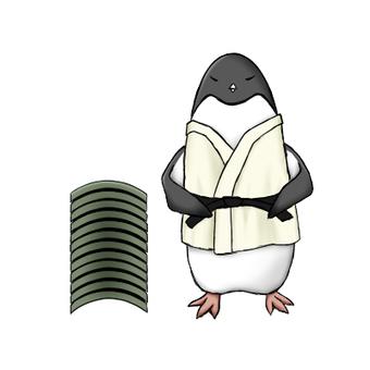 Penguin tile split (first part)