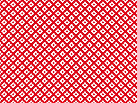 Kanoko pattern background material