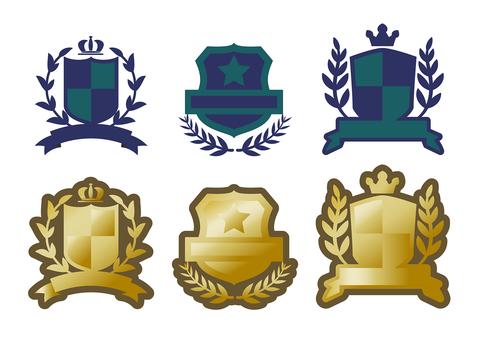 Emblem logo arm Armband