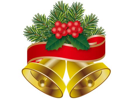 Christmas bell _ ribbon