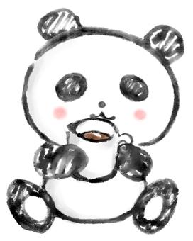 Resting panda 2