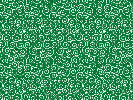 蔓藤花紋圖案