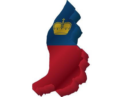 リヒテンシュタイン国旗国土