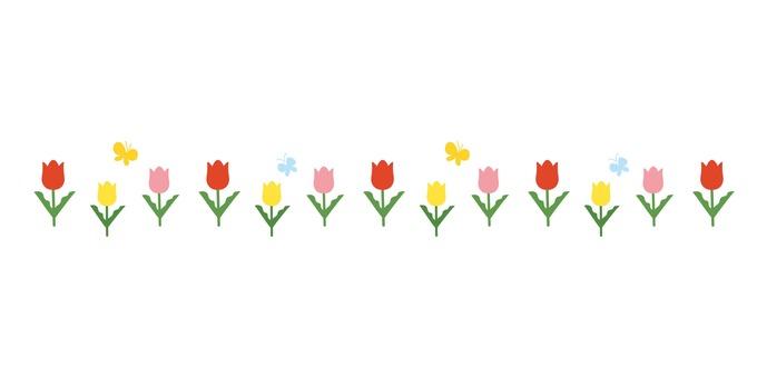 꽃 라인 02
