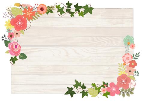 Flower decoration frame 18