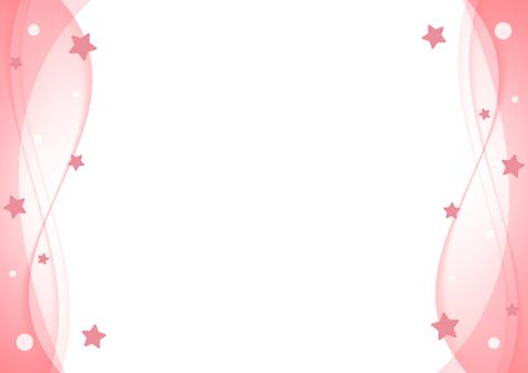 Star frame 002 (red)