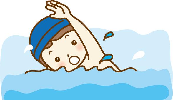 Swimming class 01