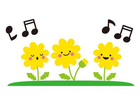 Dandelion chorus